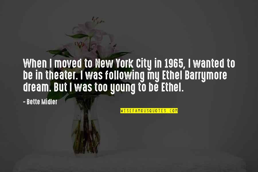 Family Problems Tagalog Quotes By Bette Midler: When I moved to New York City in