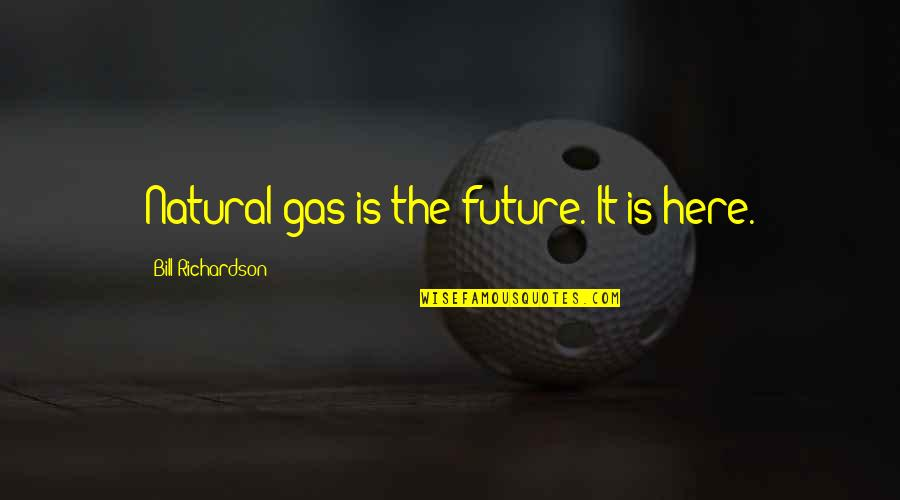 Famous Dusty Rhodes Quotes By Bill Richardson: Natural gas is the future. It is here.