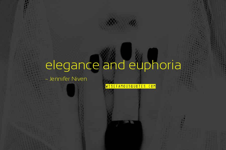 Famous Nuremberg Quotes By Jennifer Niven: elegance and euphoria