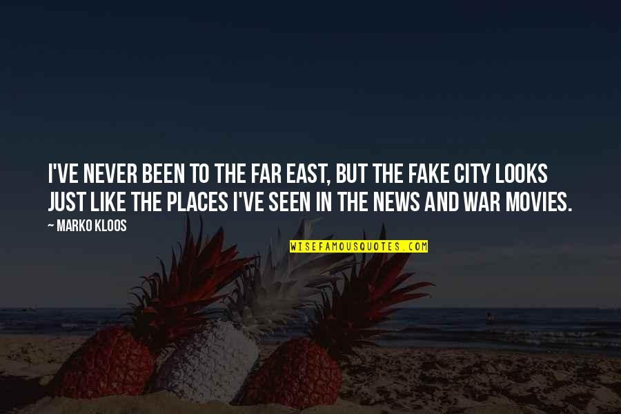 Far East Quotes By Marko Kloos: I've never been to the Far East, but