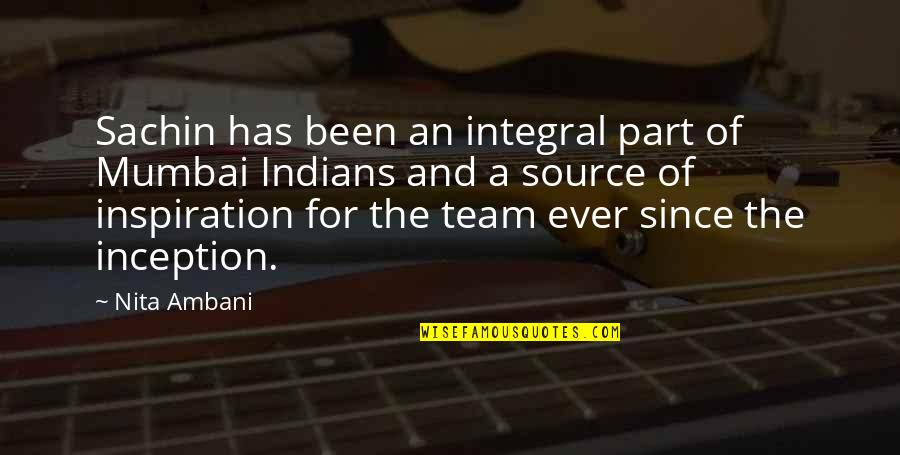 Fast & Furious 7 Quotes By Nita Ambani: Sachin has been an integral part of Mumbai