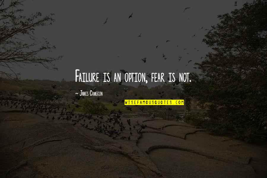 Fear Is Not An Option Quotes Top 17 Famous Quotes About Fear Is Not