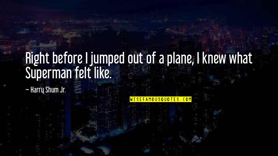 Fearless Youth Quotes By Harry Shum Jr.: Right before I jumped out of a plane,