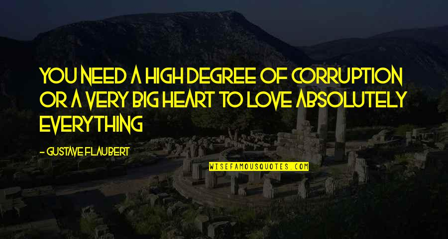Feed Mira Grant Quotes By Gustave Flaubert: You need a high degree of corruption or