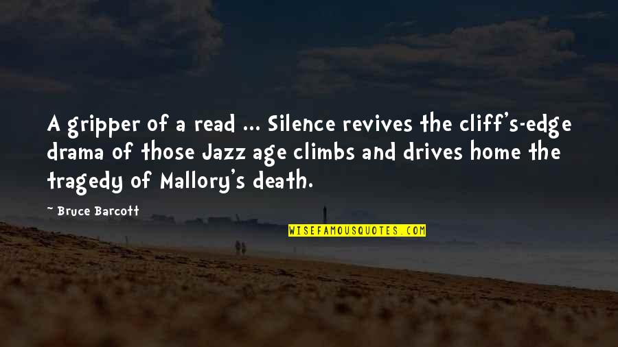 Fense Quotes By Bruce Barcott: A gripper of a read ... Silence revives
