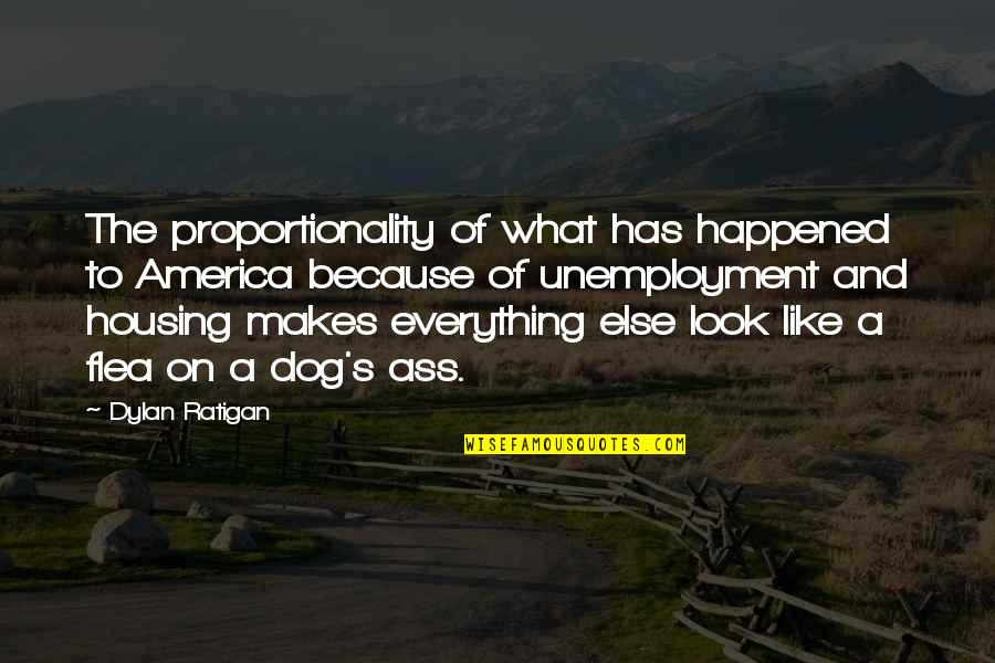 Flea Quotes By Dylan Ratigan: The proportionality of what has happened to America