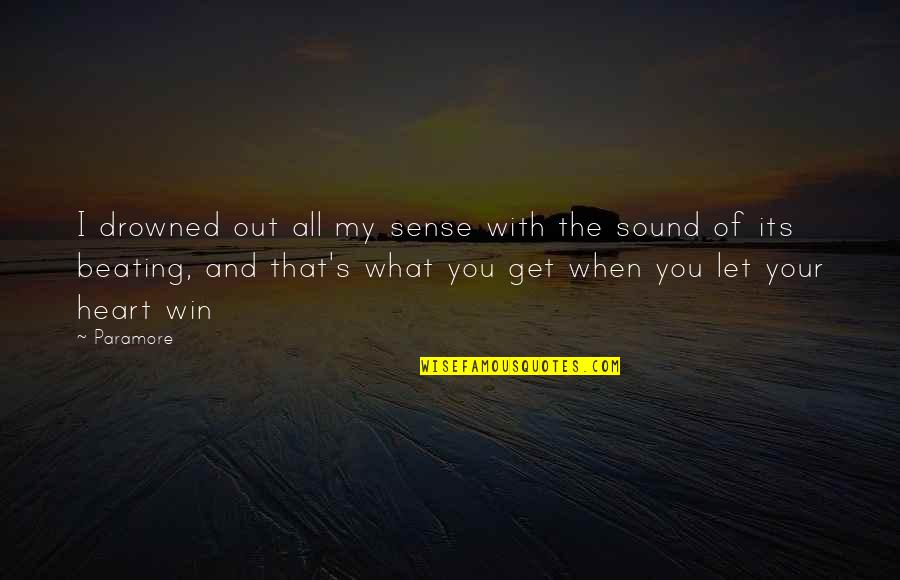 Flowers For Algernon Quotes By Paramore: I drowned out all my sense with the