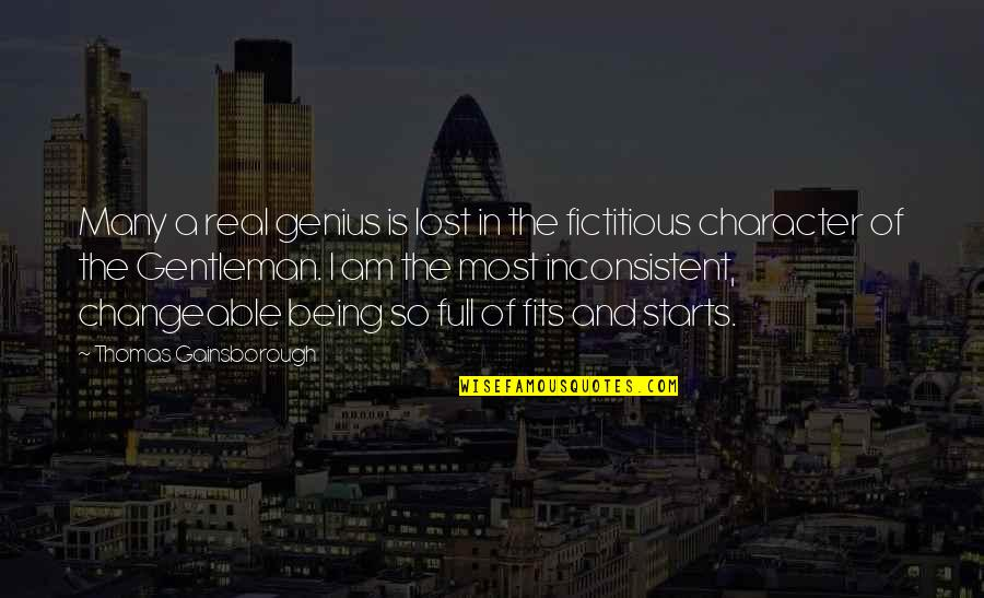 Forensic Chemistry Quotes By Thomas Gainsborough: Many a real genius is lost in the