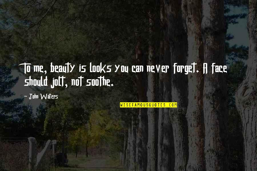 Forget Me If U Can Quotes By John Waters: To me, beauty is looks you can never