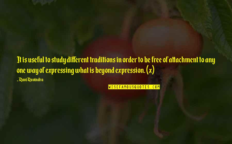 Free Spiritual Quotes By Ravi Ravindra: It is useful to study different traditions in