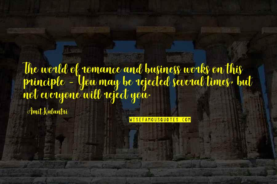 Fundraising For Cancer Quotes By Amit Kalantri: The world of romance and business works on
