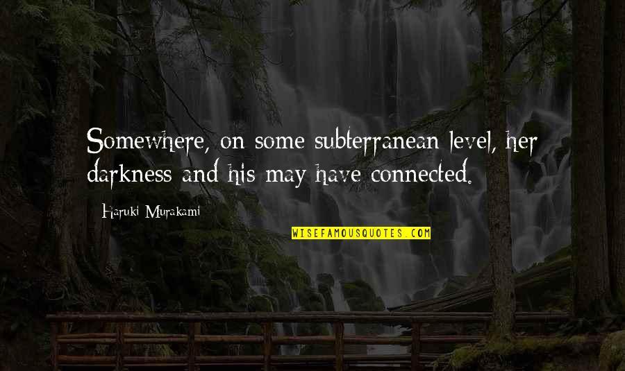 Funny 50th Birthday Invitation Quotes By Haruki Murakami Somewhere On Some Subterranean Level