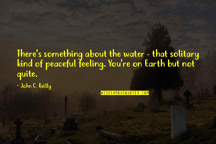 Funny Country Drinking Quotes By John C. Reilly: There's something about the water - that solitary