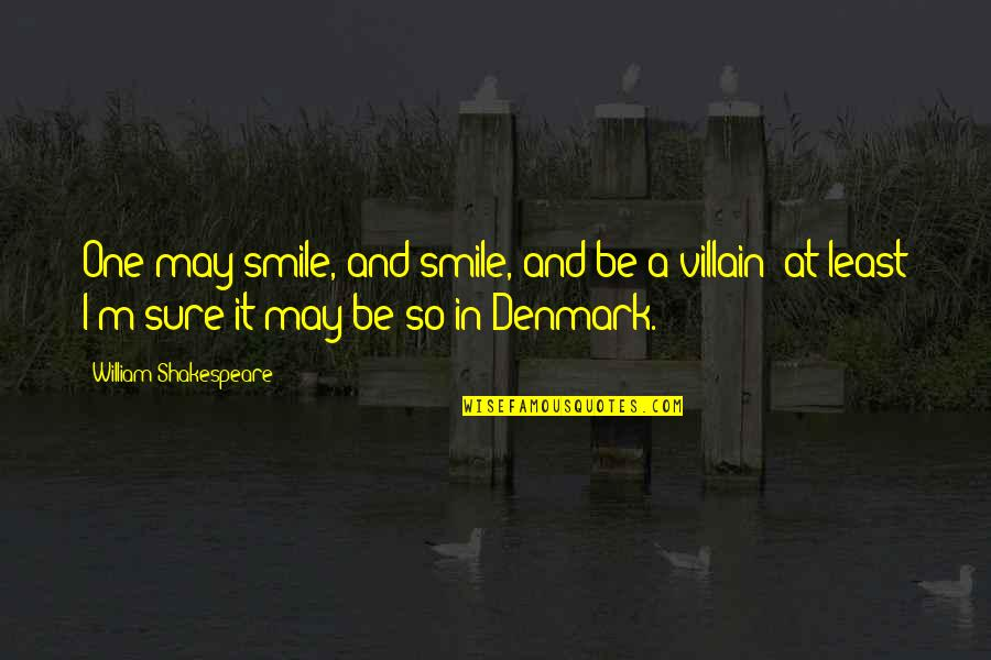 Funny Curling Quotes By William Shakespeare: One may smile, and smile, and be a