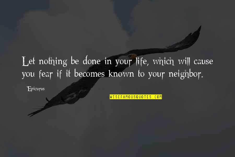Funny Dating Quotes By Epicurus: Let nothing be done in your life, which