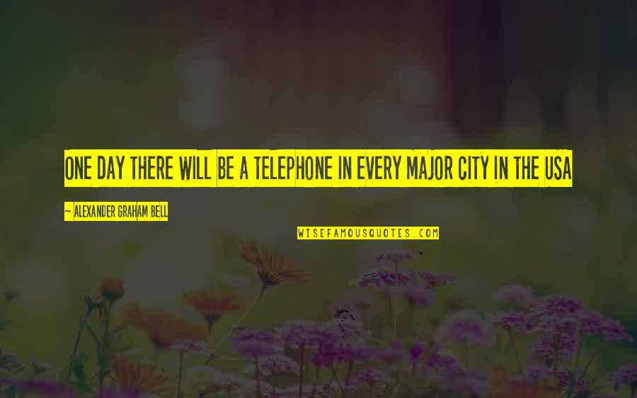 Funny Fifa Commentary Quotes By Alexander Graham Bell: One day there will be a telephone in