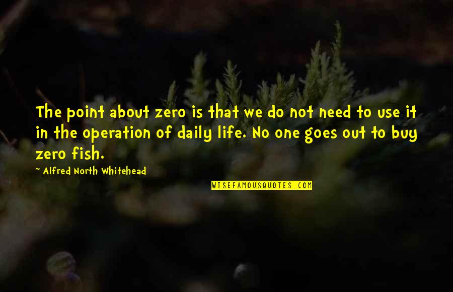 Funny Goalkeeper Quotes By Alfred North Whitehead: The point about zero is that we do