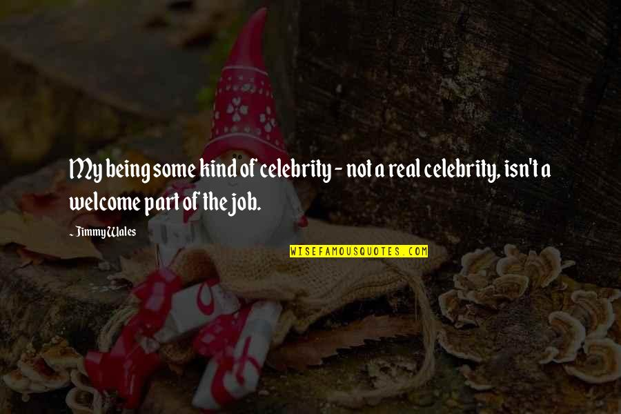 Funny Gta 3 Quotes By Jimmy Wales: My being some kind of celebrity - not