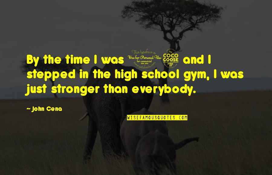 Funny Instagram Quotes By John Cena: By the time I was 15 and I