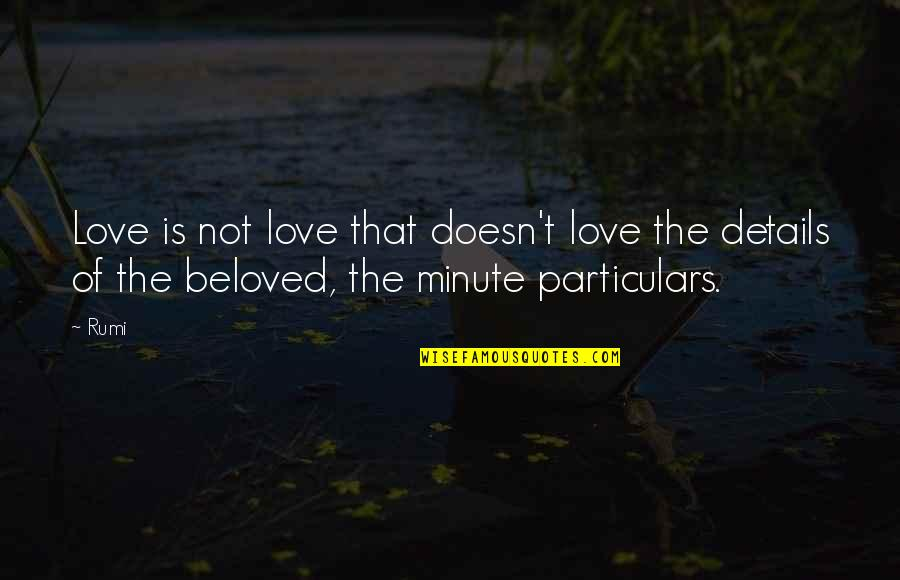 Funny Mathematical Quotes By Rumi: Love is not love that doesn't love the