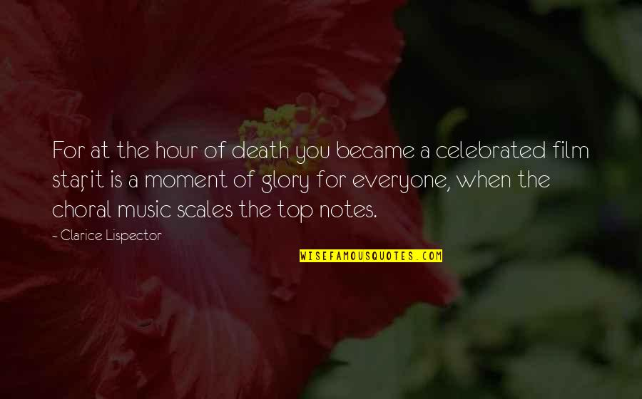 Funny Pigeon Quotes By Clarice Lispector: For at the hour of death you became