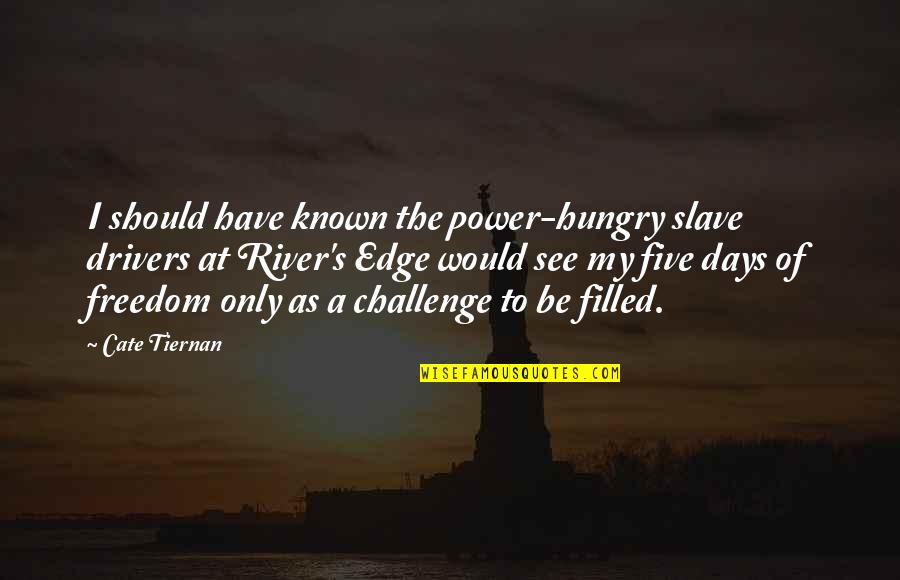 Funny River Quotes By Cate Tiernan: I should have known the power-hungry slave drivers