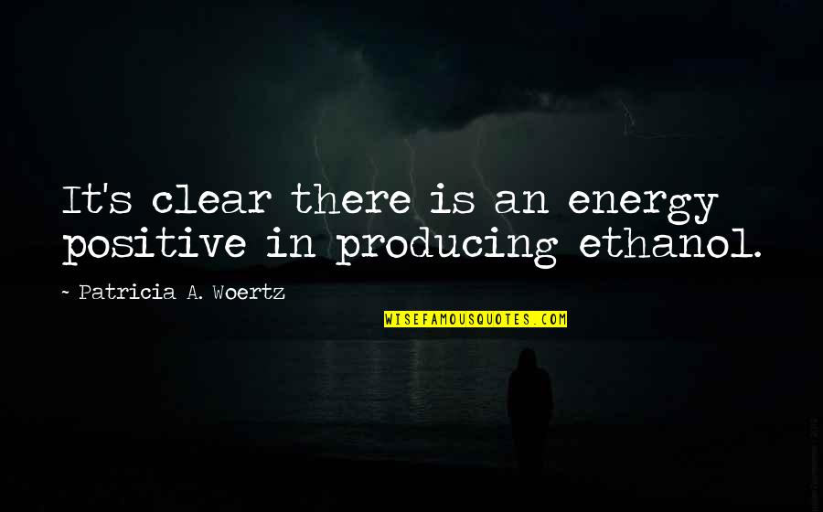 Funny Siblings Quotes By Patricia A. Woertz: It's clear there is an energy positive in
