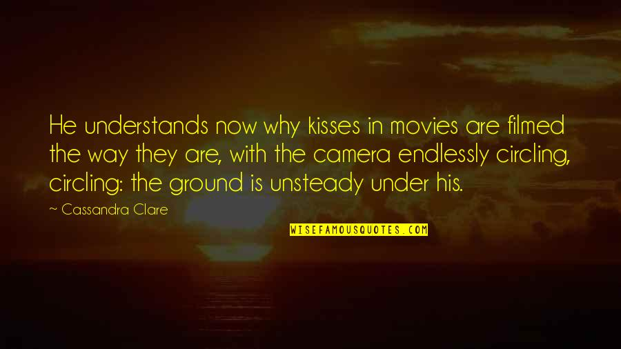 Funny Speedo Quotes By Cassandra Clare: He understands now why kisses in movies are