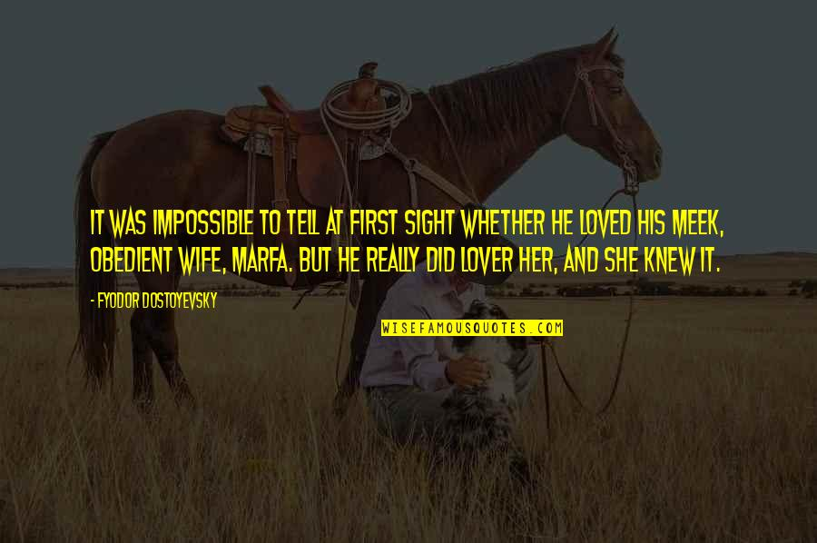 Funny Trashy Girl Quotes By Fyodor Dostoyevsky: It was impossible to tell at first sight