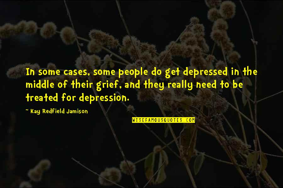 Futurama Gender Bender Quotes By Kay Redfield Jamison: In some cases, some people do get depressed