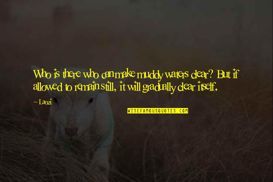 Future Family Life Quotes By Laozi: Who is there who can make muddy waters