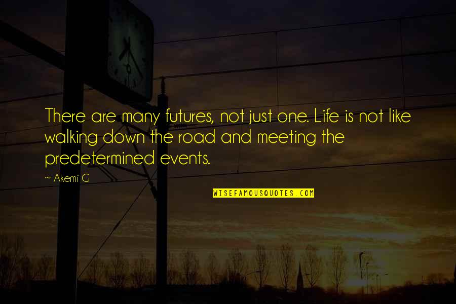 Futures Quotes By Akemi G: There are many futures, not just one. Life