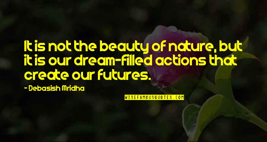 Futures Quotes By Debasish Mridha: It is not the beauty of nature, but