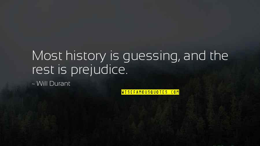 Galaxy S3 Cases Quotes By Will Durant: Most history is guessing, and the rest is