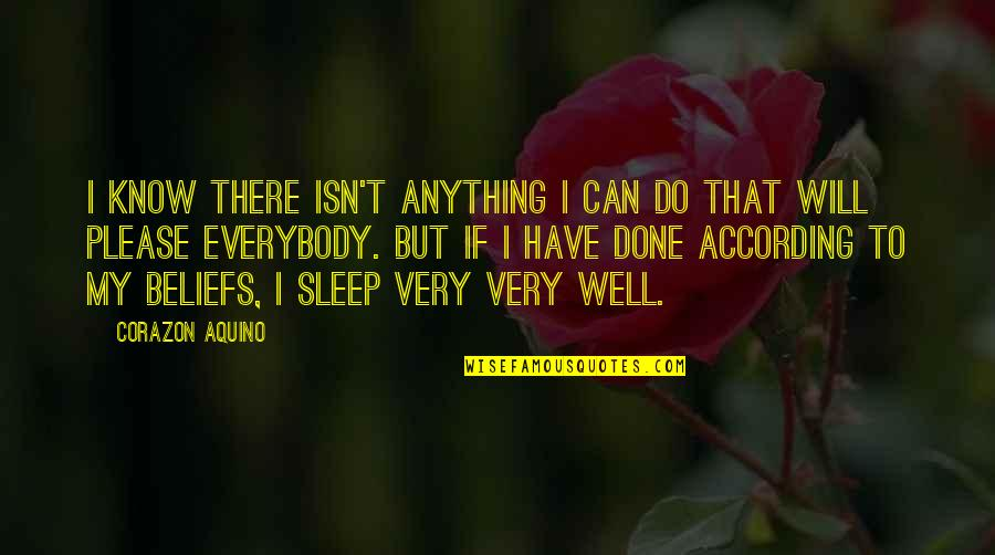 Garage Quotes Quotes By Corazon Aquino: I know there isn't anything I can do