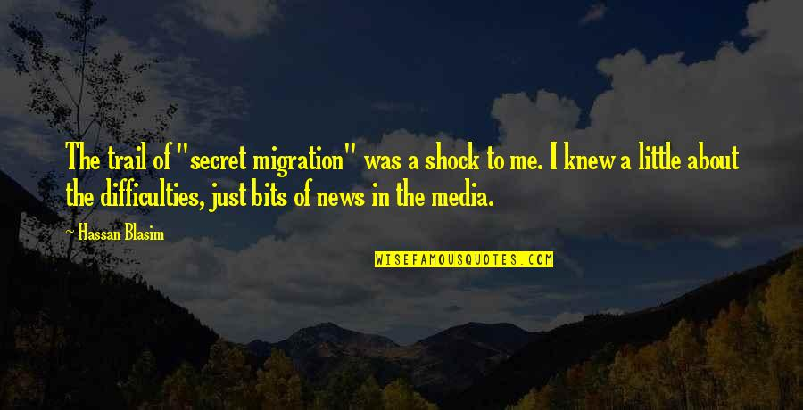 """Gatherers Quotes By Hassan Blasim: The trail of """"secret migration"""" was a shock"""