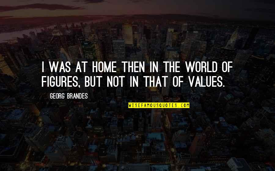 Georg Brandes Quotes By Georg Brandes: I was at home then in the world