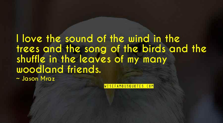 Get Moving Inspirational Quotes By Jason Mraz: I love the sound of the wind in