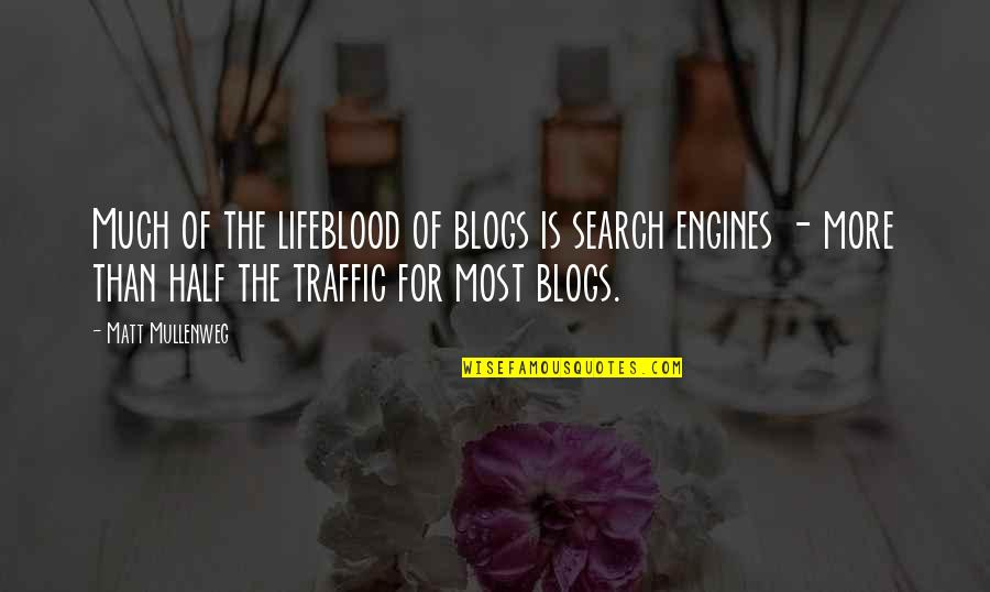 Giovanni De Medici Quotes By Matt Mullenweg: Much of the lifeblood of blogs is search