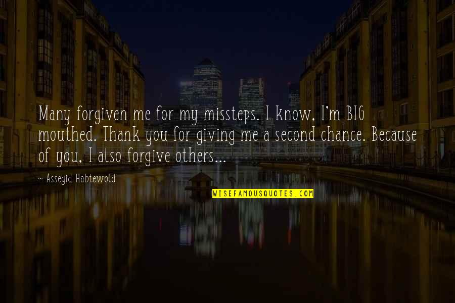 Quotes About Second Chances And Forgiveness  Quotes About