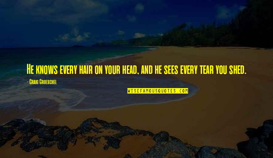 God Knows Quotes By Craig Groeschel: He knows every hair on your head, and