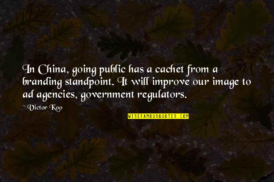 Going Public Quotes By Victor Koo: In China, going public has a cachet from