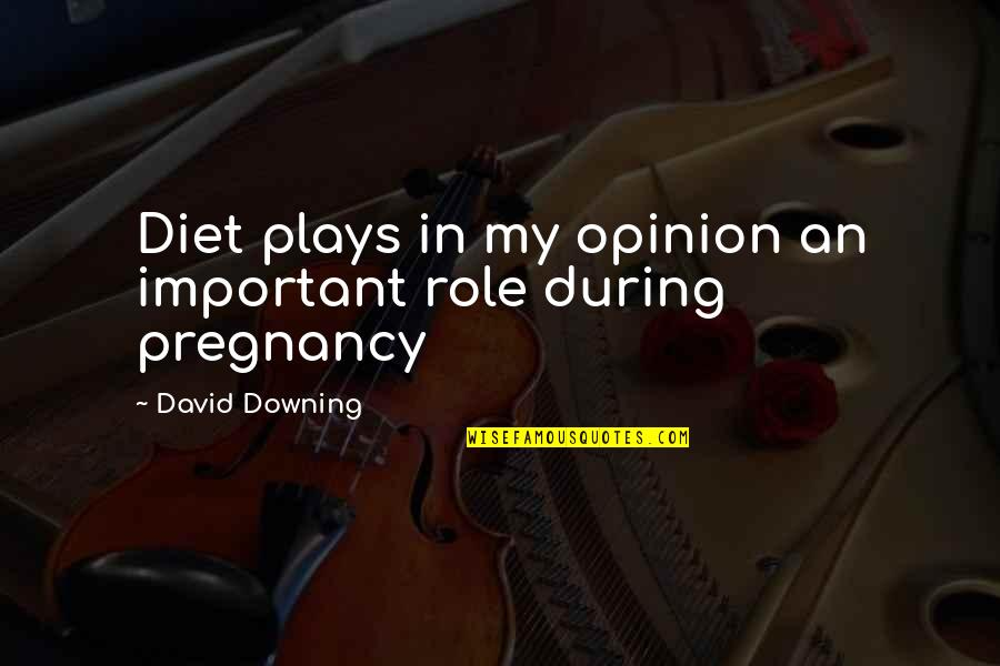 Good Harvey Penick Quotes By David Downing: Diet plays in my opinion an important role