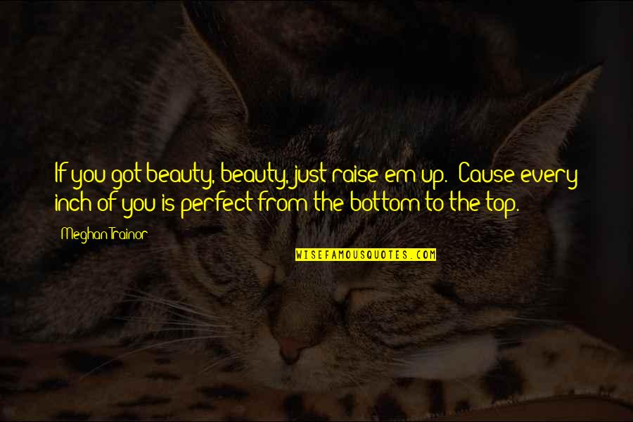 Got Em Quotes By Meghan Trainor: If you got beauty, beauty, just raise em
