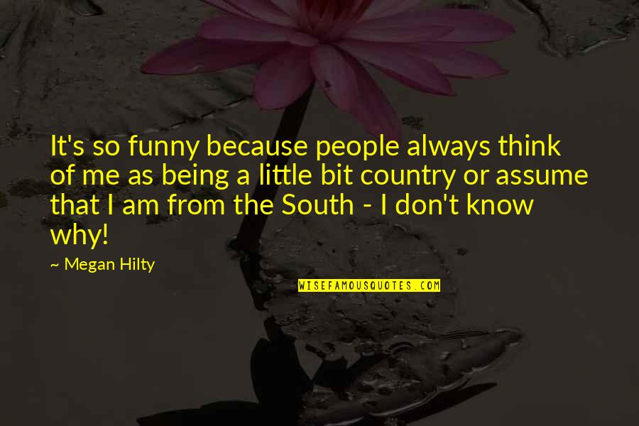 Graduates Christian Quotes By Megan Hilty: It's so funny because people always think of