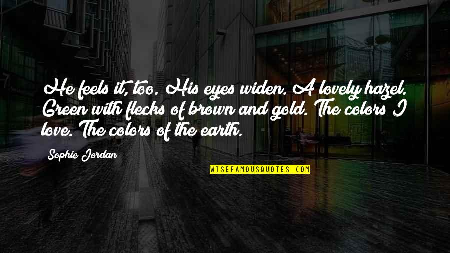 Green Hazel Eyes Quotes: top 3 famous quotes about Green ...