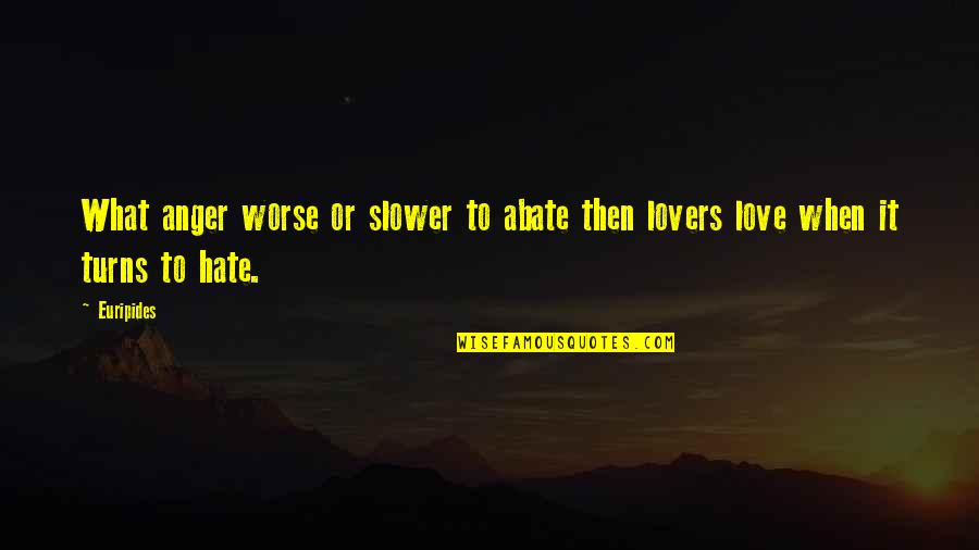 Grep Inside Quotes By Euripides: What anger worse or slower to abate then