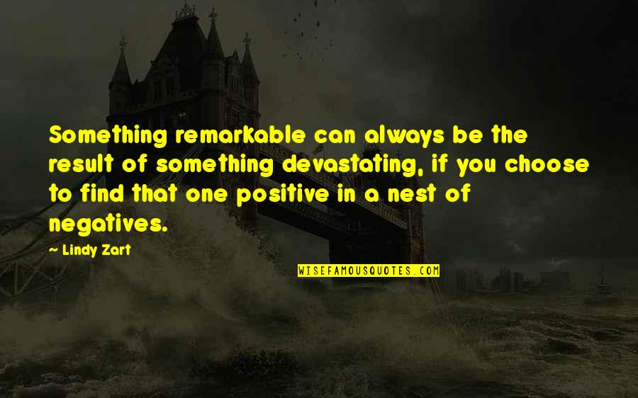 Gujarat Sthapna Din Quotes By Lindy Zart: Something remarkable can always be the result of