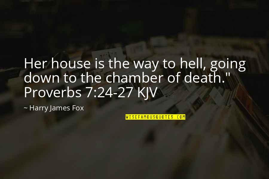 Gulzar Sahab Quotes By Harry James Fox: Her house is the way to hell, going