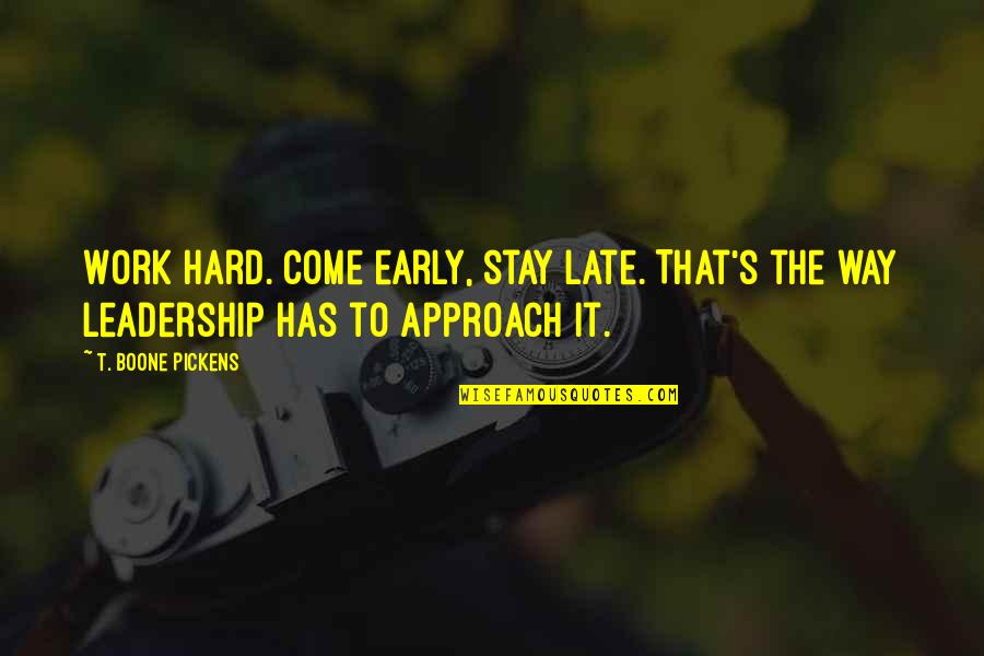Hard Work And Leadership Quotes Top 26 Famous Quotes About Hard